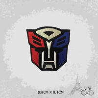 Transformer Superhero Movie Iron On Patch Sew On Embroidered Patch Badge