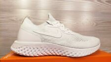 Nike Epic React Flyknit True White Pure Platinum Fashion AQ0067-102 Pick Size