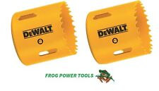 DEWALT 2 X DT83060 60MM BI METAL HOLESAW
