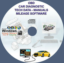 OBD CAR DIAGNOSTIC SOFTWARE PACKAGE ECU REMAPPING CHIP TUNING CHECK ENGINE DVD