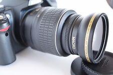 Wide Angle Macro Close Up Semi Fisheye Lens for Nikon D3400 D3200 D3300 D40 New