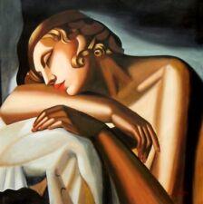 Abstrakte künstlerische Öl-Malerei mit Art Deco -