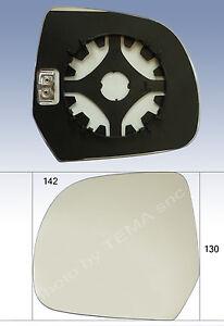 Specchio retrovisore DACIA Duster dal 2010 / Lodgy 2012 piastra+vetro SX termico