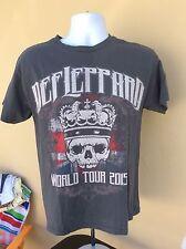 Def Leppard 2015 Medium Concert T-Shirt