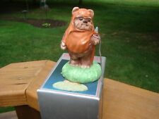 Vintage Sigma Ceramic STAR WARS Return of the Jedi Wicket W Warrick Figurine BOX