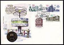 DDR Numisbrief 2 (1987), 750 Jahre Berlin-2.Ausgabe