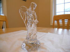 WATERFORD CRYSTAL NATIVITY ANGEL WITH HORN FIGURINE TRUMPET