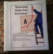 Carl Galletti Jay Abraham Gary Halbert MARKETING MADE EASY 7 Rare Manuals