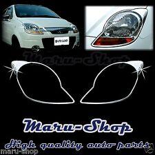 Chrome Headlight Lamp Cover Trim for 05~09 Chevrolet Spark/Matiz