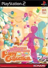 PS2 Dance Dance Revolution Party Collection Japan F/S