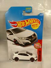 Hot Wheels - 2016 '16 - Honda Civic Type  R - Then and Now - 1/10 White