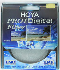 Hoya 58mm Digital UV Pro1 D Filtro Lente Pro 1D Nuovo e Sigillato UK STOCK