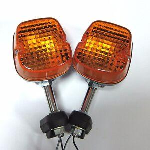 Pair Rear Turn Signal Lights For Honda XL250S XL500S XL 250 500 S Blinker Lights