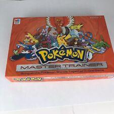 2005 Milton Bradley Pokemon Master Trainer Board Game See Notes