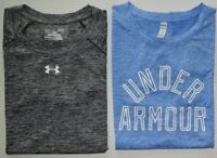 Women's Under Armour Heat Gear Loose Fit Heather Polyester Shirt