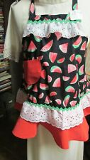 """New listing """"""""Girl'S Super Cute Apron - Watermelons #1"""""""" - New - Great Gift Idea"""