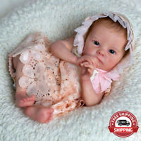 """Reborn Baby Doll 18"""" New Born Life like Tink Vinyl Unfinished Unpainted Gift Kit"""