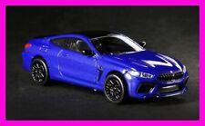 NOV 2020 Paragon PARA64 BMW M8 Coupe Marina Bay Blue Metallic 1/64
