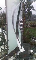 Gartenstecker Edelstahlstele Edelstahl 1,5 m Gartendeko Edelstahldeko Stecker