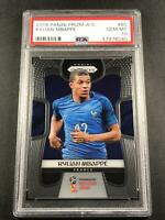 KYLIAN MBAPPE 2018 PANINI PRIZM #80 WORLD CUP ROOKIE RC PSA 10 FRANCE