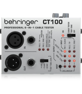 BEHRINGER CT100 CABLE TESTER PER CAVI TESTACAVO