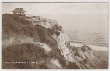 Dorset postcard - Bournemouth Cliffs (A858)
