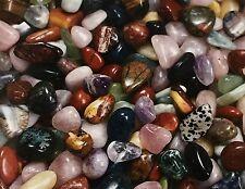 'A' Grade Quality Natural Mix Tumbled Stone Bulk Specimen Gemstone 1/2 lbs Reiki