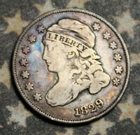 1829 Capped Bust Silver Dime Collector Coin. ***FREE SHIPPING***