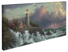 Thomas Kinkade Conquering the Storms 16 x 31 Gallery Wrapped Canvas