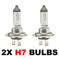 2 x Brand New H7 499 HEADLAMP HEADLIGHT CAR BULBS 12v 55w (2 PIN) 477
