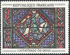 France 1965 Stained Glass/Art/Window/Sens Cathedral/Crafts/Horses 1v (n43447)