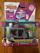 Hello Kitty MY MELODY DONUT TRUCK Die Cast Vehicle with Micro Figure New No 7