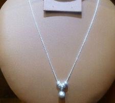 Modeschmuck-Halsketten & -Anhänger aus Sterlingsilber mit Perle für Damen