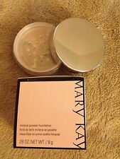 WOW Mary Kay MINERAL Powder Foundation IVORY 2 New