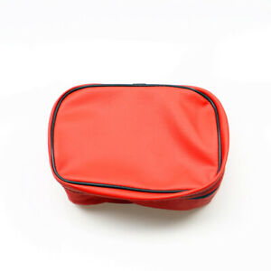 Red Motorcycle Universal Tool Bag Rear Box Storage For Honda XR KLX DRZ 250