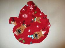 XS Dog shirt [reindeer] fleece handmade