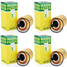 4 Pack Engine Oil Filter AUDI VW OE# 071 115 562 / 045 115 466 MANN HU 719/7 X