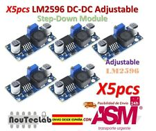 5pcs LM2596 LM2596S DC-DC Adjustable Voltage Regulator Step Down Power Supply