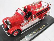 """1:43 NAT'L MOTOR MUSEUM MINT SIGNATURE, 1935 Mack 75BX """"Hanover Fire Dept No. 1"""""""