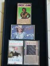 Vintage Country Music Cassette Tape Lot