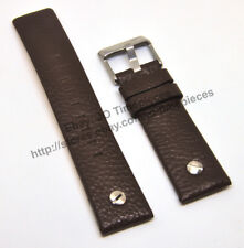 Comp. Diesel DZ7335 , DZ7272 - 24mm Brown Leather Watch Strap Band
