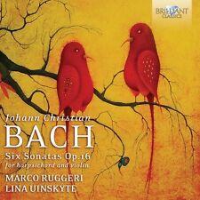 Marco Ruggeri - Sonatas for Harpsichord & Violin [New CD]