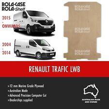 Renault Trafic LWB- Genuine Van Cargo Flooring Marine Grade 12mm Plywood CNC Cut