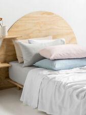BRAND NEW Linen House Thick Cotton Plain Dyed Flannelette Sheet Set