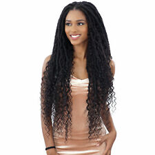FREETRESS EQUAL SYNTHETIC DRAWSTRING HAND-TIED LACE PART BRAID WIG - MERMAID LOC