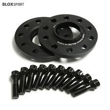 2Pc 12mm Black Aircraft Aluminum 6061-T6 Wheel Spacers 5 x 120 - BMW X5 E70 F15