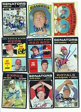 Tom Burgmeier signed  1971 Topps #431 Royals Red Sox