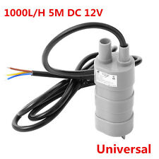 JT550 1000L/H 5M DC 12V Automobile Car Wash Cleaning Submersible Water Pump Kit