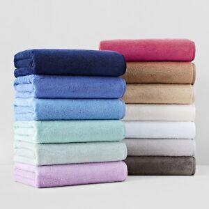 Matouk Milagro 3-PC Bath/Hand/Tubmat Towel Set Navy Blue MSRP $151 E3053