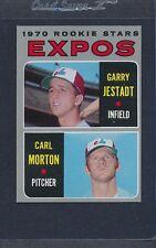 1970 Topps #109 Expos Rookie Stars Jestadt/Morton EX *887